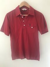 PENGUIN BY MUNSINGWEAR Slim Fit Coral Red SS Pocket Polo Shirt - Size M