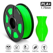 SUNLU 3D Printer Filament PLA+ Green 1.75mm 1kg/2.2lb Spool Printing Supplies