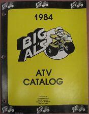Honda ATC 90 110 ATC250R ATC200X ATC185S 1984 Big Al's BAPP Catalog AHRMA MX