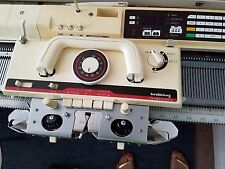 BROTHER KNITKING COMPUKNIT III KNITTING MACHINE WITH RIBBER ATTACHMENT KR 850