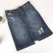 Joe's Jeans Women's Size 27 Distressed Denim Pencil Skirt