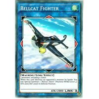 YUGIOH IGAS-EN095 BELLCAT FIGHTER - COMMON 1st EDITION