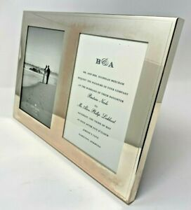 Kate Spade NY - Darling Point Double Invitation Picture Frame - Silver-plated
