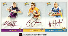 2009 Select NRL Champions Red Foil Printed Signature Card Full Set (48)-rare
