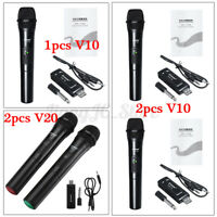 🔥Universal 1/2 Handheld Cordless UHF Professional Dual Wireless Microphone  z