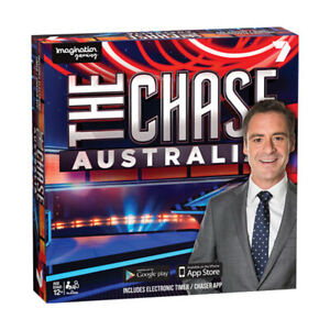 The Chase Australia Board Game NEW