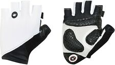 Size S Assos Summer S7 Road / Gravel / CX Cycling Gloves, White Panther