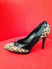 Designers Italian Hills Giada Donna Poni Hair Animal Print EU 39 New In Box