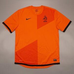Netherlands 2012 2014 Home Football Soccer Shirt Jersey Camiseta Nike 447289-815
