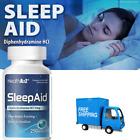 Sleep Aid Supplement Diphenhydramine Non Habit Forming Sleeping Sofgels 250 Pack