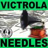 100 MEDIUM-Toned NEEDLES Victrola Gramophone Phonograph Reproducer Records