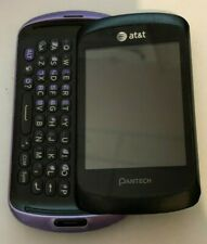 READ 1ST  Pantech Swift P6020 Purple (Unlocked) Cell Phone Touch Very Good Used