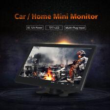 10 in (approx. 25.40 cm) Enchufe Multi Pantalla De Monitor Vga Bnc Hdmi Rca 4 Coche Hogar CCTV Computadora Pc