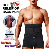 Medical Heat Waist Support Belt Brace For Pain Relief Lower Back Lumbar Therapy