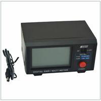 "Original Nissei Dg-503 Digital Lcd 3.5"" Swr & Wattmeter 1.6-60 Mhz/125-525 O7G5"