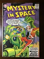 Mystery In Space #53 (1959) - Adam Strange! Robot Cover! - Key!