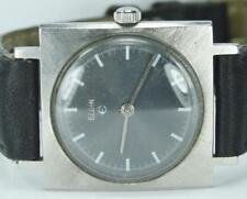 1¢ Auction  Vintage 1960's Stainless Elgin 17J Swiss 874 Wrist Watch Runs Great!