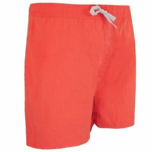 """Animal Swimming Trunks 16"""" Stretch Waist Coral Shorts Mens CL5SG157 S02"""