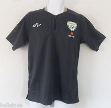 nwt~Umbro Repbulic of IRELAND DAY Zip POLO jersey Soccer Football Shirt~Men sz M