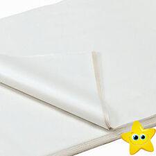 500 Sheets White Acid Free 450mm x 700mm Tissue Paper