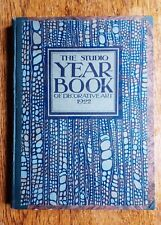 The Studio Year Book of Decorative Art 1922 Peche Dufrene Brangwyn CR Mackintosh
