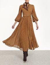Zimmermann Espionage Sunray Track Dress Size 0 1 2 3