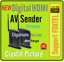 High* performance Digital 1080p HDMI Wireless AV Sender Receiver For Foxtel IQ3