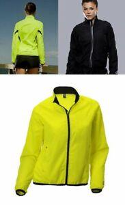 Ladies Spalding Adrenaline Jacket Running Cycling Womens Sports Windproof