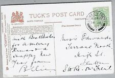 1907 PC sent to Miss Edwards, Terrace North, High Street, Fenton, Stoke-on-Trent