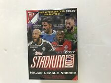 2017 TOPPS STADIUM CLUB SOCCER BLASTER BOX ( 1 AUTO CARD GUARANTEED )