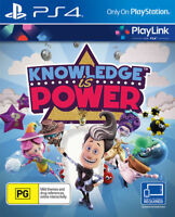 NEW Sony Knowledge is Power Playstation 4 PS4 Playlink BRAND NEW SEALED
