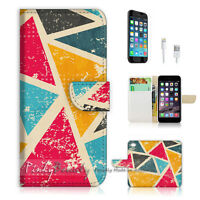 ( For iPhone 6 Plus / iPhone 6S Plus ) Case Cover Abstract Triangle P1439
