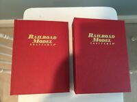 Railroad Model Craftsman Magazines w/ Binders 2011/2012  & 2012/2013 - Ur Choice