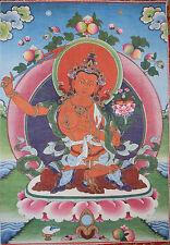 Tibetan Buddhist Thanka Wall Hanging - Red Tara