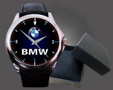BMW IM3 Men's and women Watch Sport Black Leather Style