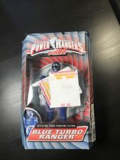 "Power Rangers Turbo 8"" Blue TURBO RANGER New Factory Sealed 1997 Bandai"