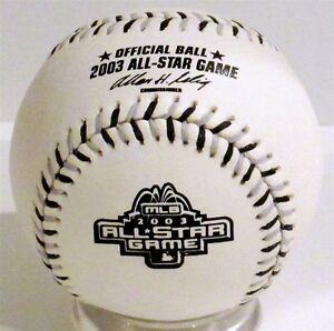 2003 Official All Star Baseball MLB Rawlings US Cellular Chicago White Sox