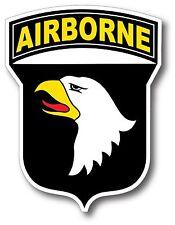 "US ARMY 101st Airborne Car Decal Sticker High Quality Diamond Shine 5""x3.75"""