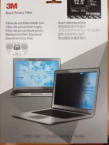 Filtro de privacidad para portatil 3M PF125W9B -
