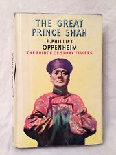 E Phillips Oppenheim - The Great Prince Shan - Yellow Jacket - 1950 Scarce