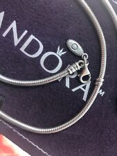 Pandora Silver Collier Necklace # 590704HV