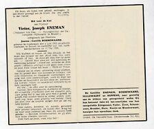 RIJKSWACHTER OORLOGSSLACHTOFFER V.ENEMAN °ASSEBROEK +1944 BRUSSEL Bombardement