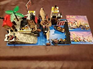 Lego 6277 Pirates Imperial Trading Post w/ Instructions read description