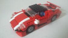 JOUET LEGO CREATOR - VOITURE ROUGE 3 en 1 - SET 5867 AVEC NOTICES