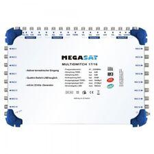 Megasat Multischalter 17/16 Multiswitch 4 Satelliten 16 Ausgänge Verteiler