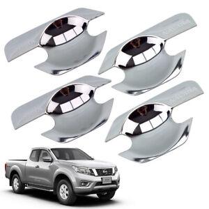 For Nissan Frontier Navara D40 2005 14 Bowl Insert Handle Cover Chrome