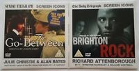 2 DVD Set Brighton Rock The Go-Between Julie Chtistie Richard Attenborough PG