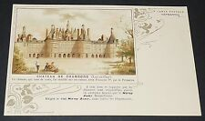 CPA CHROMO 1900-1905 CHAMBORD CAMPAGNE ANTI-ALCOOLS FORTS PRO VIN / ART NOUVEAU