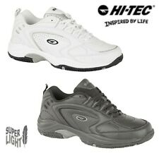 Hi-Tec Lightweight Trainers White Black Large Sizes 6 7 8 9 10 11 12 13 14 15 16