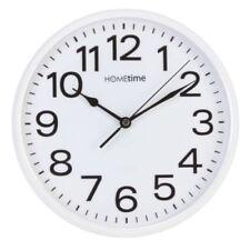 Horloges murales vintage/rétro blanc rondes pour la maison
